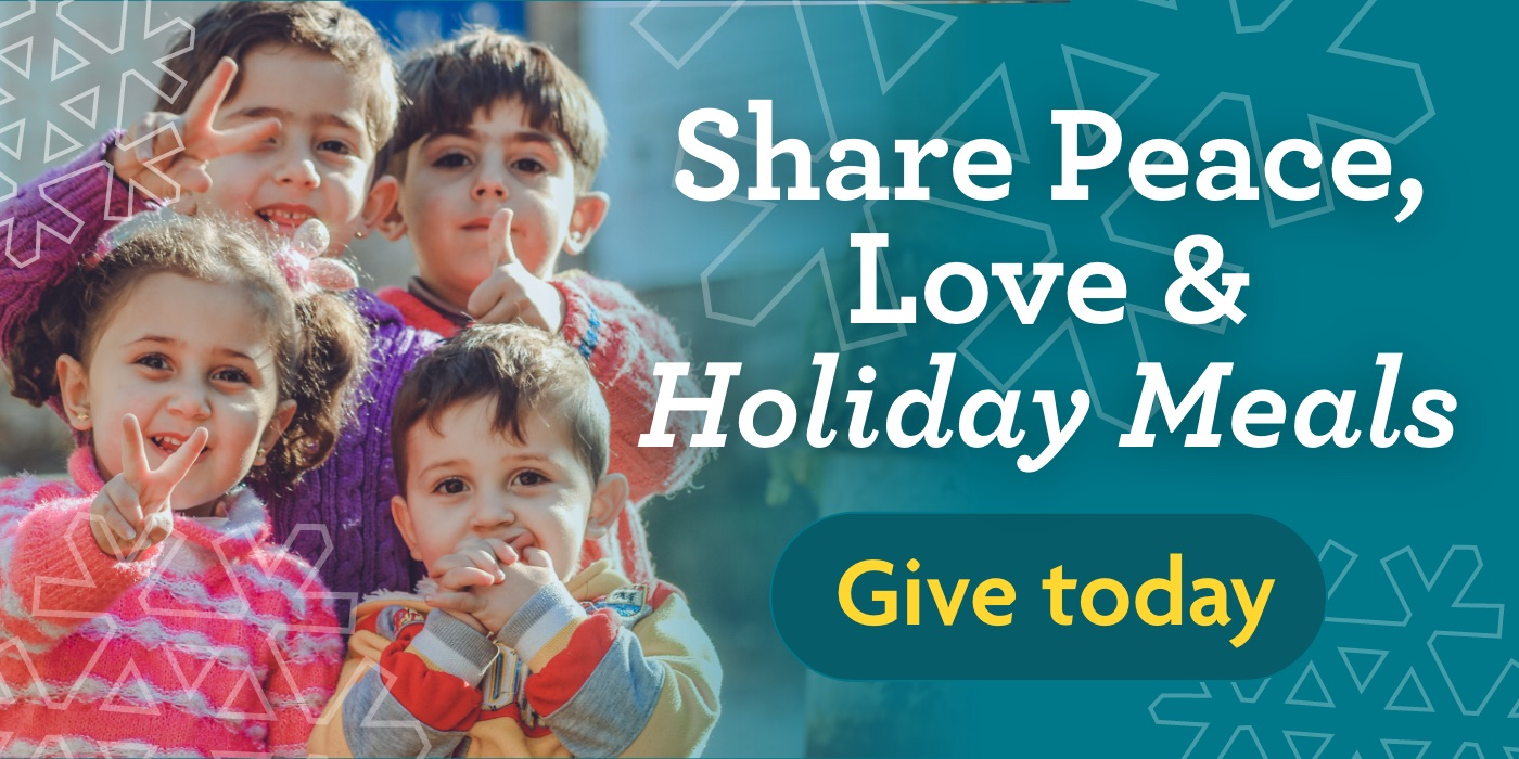 Share Peace, Love & Holiday Meals