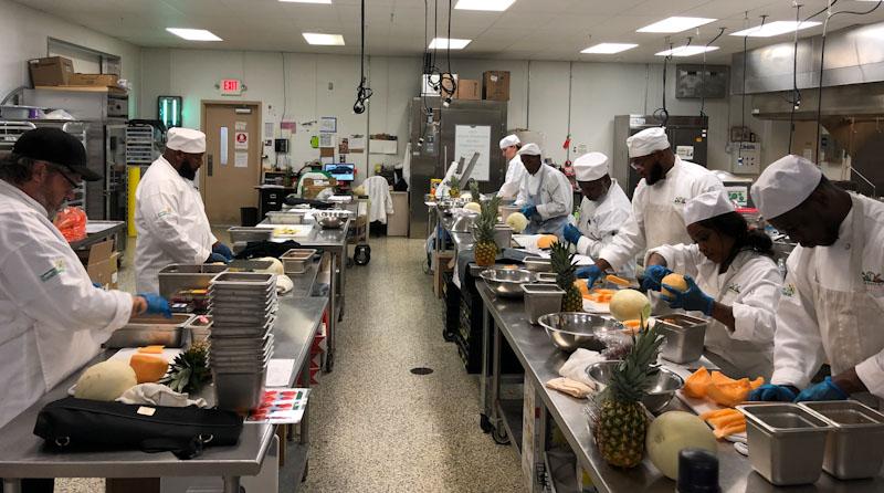 FreshStart Kitchen Students